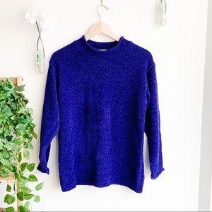 Vintage Diane Von Furstenberg Mock Neck Sweater